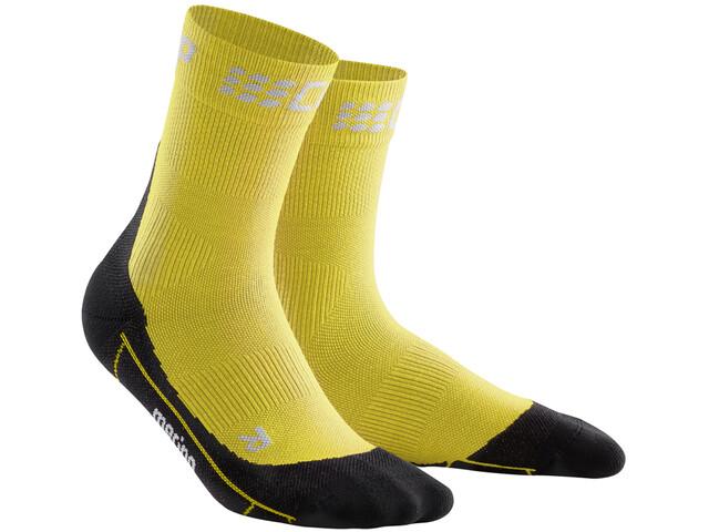 cep Winter Chaussettes courtes Homme, yellow/black
